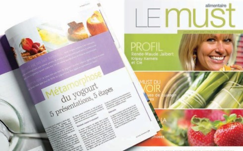 Magazine Le Must alimentaire